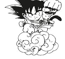 Chibi Son Goku by Roes Pha