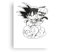 Chibi Son Goku Metal Print