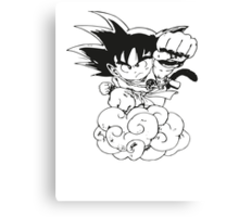 Chibi Son Goku Canvas Print