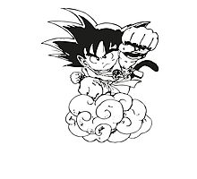 Chibi Son Goku Photographic Print