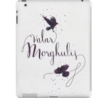 Game of Thrones . Valar Morghulis iPad Case/Skin