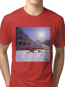 Glacier Landing Tri-blend T-Shirt
