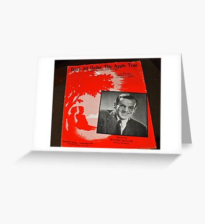 GLEN MILLER BIG BAND Greeting Card