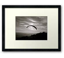 Flying :) Framed Print