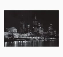 Melbourne by Night BW Kids Clothes