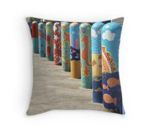 What a load of bollards! Throw Pillow