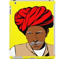 Indian man with a turban iPad Case/Skin