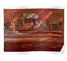 Shrine Autumn Poster