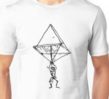da Vinci Parachute Unisex T-Shirt