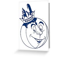 Cincinnati Royals Greeting Card