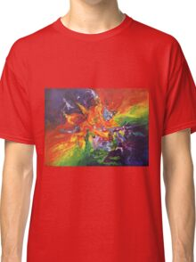 """Explosion"" original artwork by Laura Tozer Classic T-Shirt"