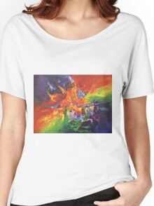 """""""Explosion"""" original artwork by Laura Tozer Women's Relaxed Fit T-Shirt"""