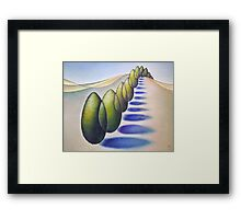 Wind Break Framed Print