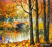 Love In The Air — Buy Now Link - www.etsy.com/listing/215095449 by Leonid  Afremov