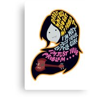 Marceline, The Vampire Queen Canvas Print