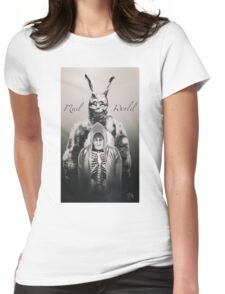 Mad World  Womens Fitted T-Shirt