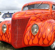 Flaming Ford by taterbug