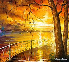 The Sweetness Of The Sun — Buy Now Link - www.etsy.com/listing/215025278 by Leonid  Afremov