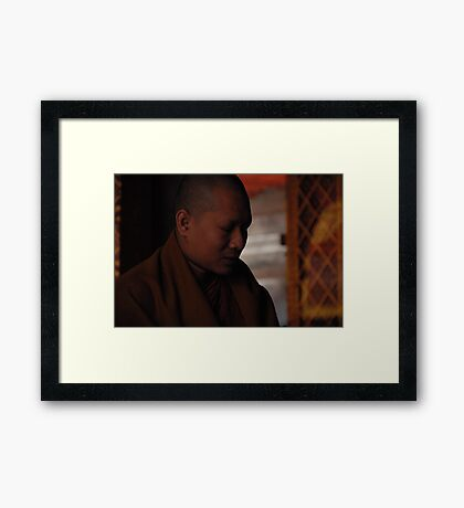 A moments solice Framed Print