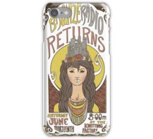 Bronzed Gilded Lily Tour iPhone Case/Skin
