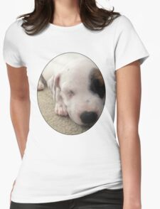 Max The Puppy Womens Fitted T-Shirt