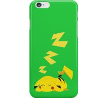 electric sleep iPhone Case/Skin