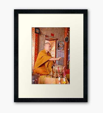 A blessing Framed Print
