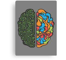 Techno Mind Canvas Print