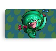 DANCING LILLYPAD Canvas Print