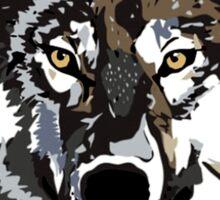 Wolf - Water Colour Sticker