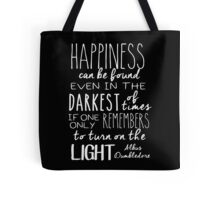 Turn On The Light #White Version Tote Bag