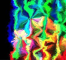 crystal ribbons by DARREL NEAVES