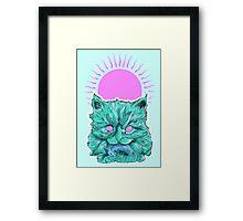 Heartless Kitty Framed Print