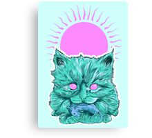 Heartless Kitty Canvas Print