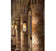 Columns, Our Lady of Hope, Philadelphia Photographic Print