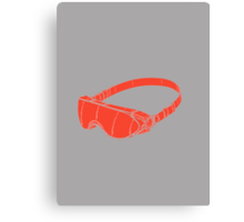 Red Goggles Canvas Print