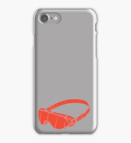 Red Goggles iPhone Case/Skin