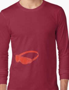 Red Goggles Long Sleeve T-Shirt