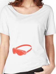Red Goggles Women's Relaxed Fit T-Shirt