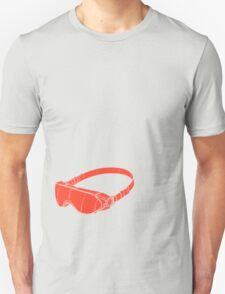 Red Goggles Unisex T-Shirt