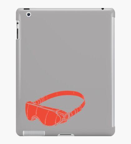 Red Goggles iPad Case/Skin