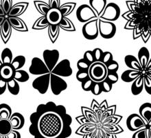 just flowers Sticker