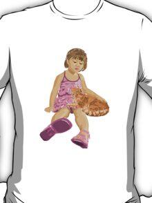 Girl&Cat T-Shirt