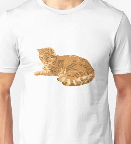 red cat Unisex T-Shirt