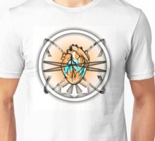 Burning Bound Emotion - Lighter Colored Unisex T-Shirt