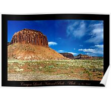Canyon Lands National Park - Utah nature landscape Poster