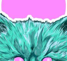 Heartless Kitty Pink Sticker