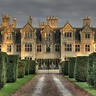 Shipton Manor in the evening light  by Rich Fletcher