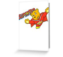 SuperTed! Greeting Card