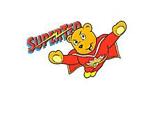 SuperTed! Photographic Print
